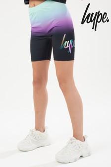Hype. Black Midnight Mint Cycling Shorts