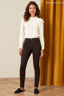 Monsoon Brown Nadine Regular-Length Skinny Jeans
