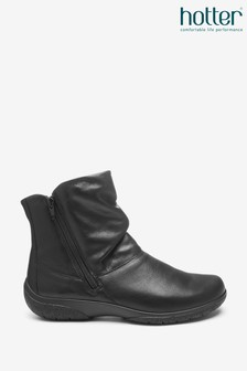 Hotter Whisper Zip Ankle Boots