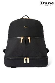 Dune London Womens Black Oracle Backpack