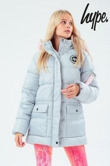 Hype. Grey Explorer Coat