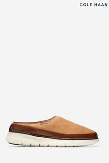 Cole Haan Mens Cream Generation Zerogrand Dweller Slippers