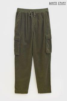 White Stuff Green Aria Organic Co-ord Trousers