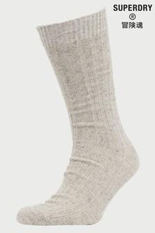 Superdry Grey Lowell Neps Socks