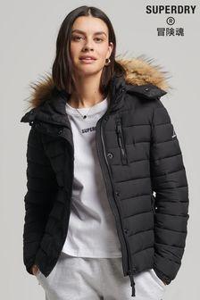 Superdry Classic Faux-Fur Fuji Jacket