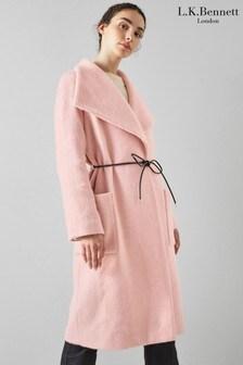L.K.Bennett Phoebe Belted Coat