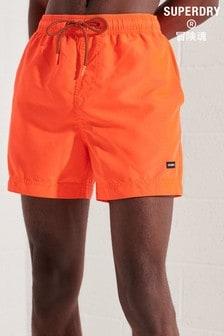 Superdry Orange Water Volley Swim Shorts
