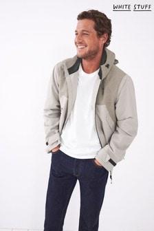 White Stuff Natural Ramble Waterproof Jacket
