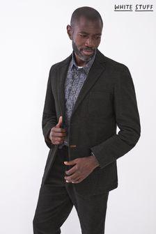 White Stuff Black Costock Moleskin Blazer