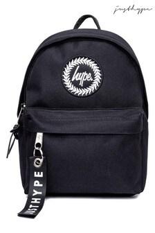 Hype. Black Core Crest Mini Backpack