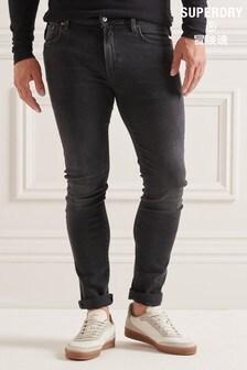 Superdry Grey Studios Slim Jeans