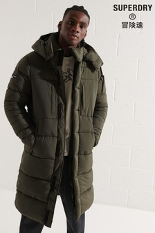 Superdry Green Touchline Padded Jacket