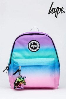 Hype. Pink Unicorn Ombre Backpack