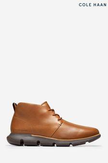 Cole Haan Brown 4.Zerogrand Chukka Boots