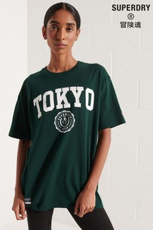 Superdry Green City College T-Shirt