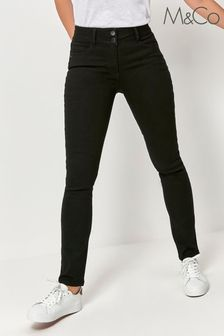 M&Co Black Lift and Shape Skinny Jeans