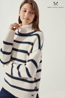 Crew Clothing Company Silver Lining Jumper (Regular Buttons)