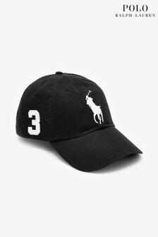 Polo Ralph Lauren Black Tonal Large Logo Cap