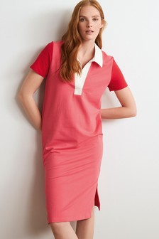 Short Sleeve Rugby Dress
