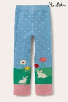 Boden Blue Knitted Leggings