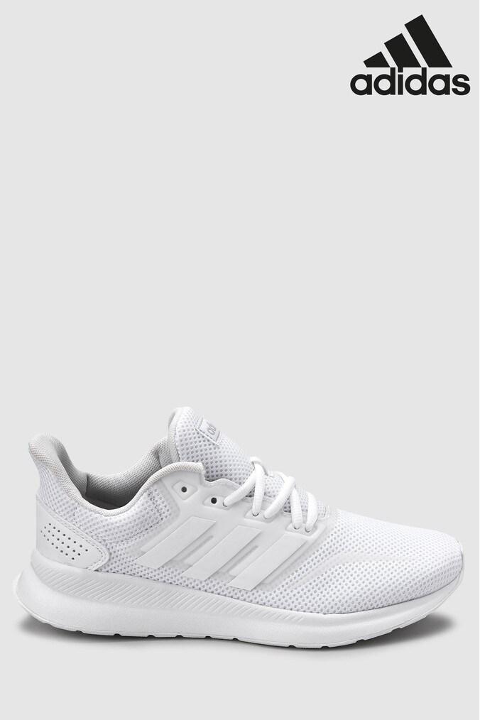 on sale 6dd14 ce174 Womens adidas Run Falcon - White