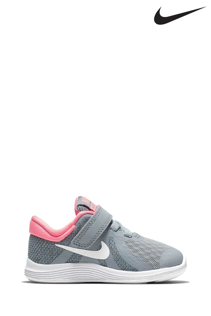 official photos 7b7f0 3c59a Girls Nike Run Grey Pink Revolution 4 Infant - Grey - £24.00 - Bullring    Grand Central