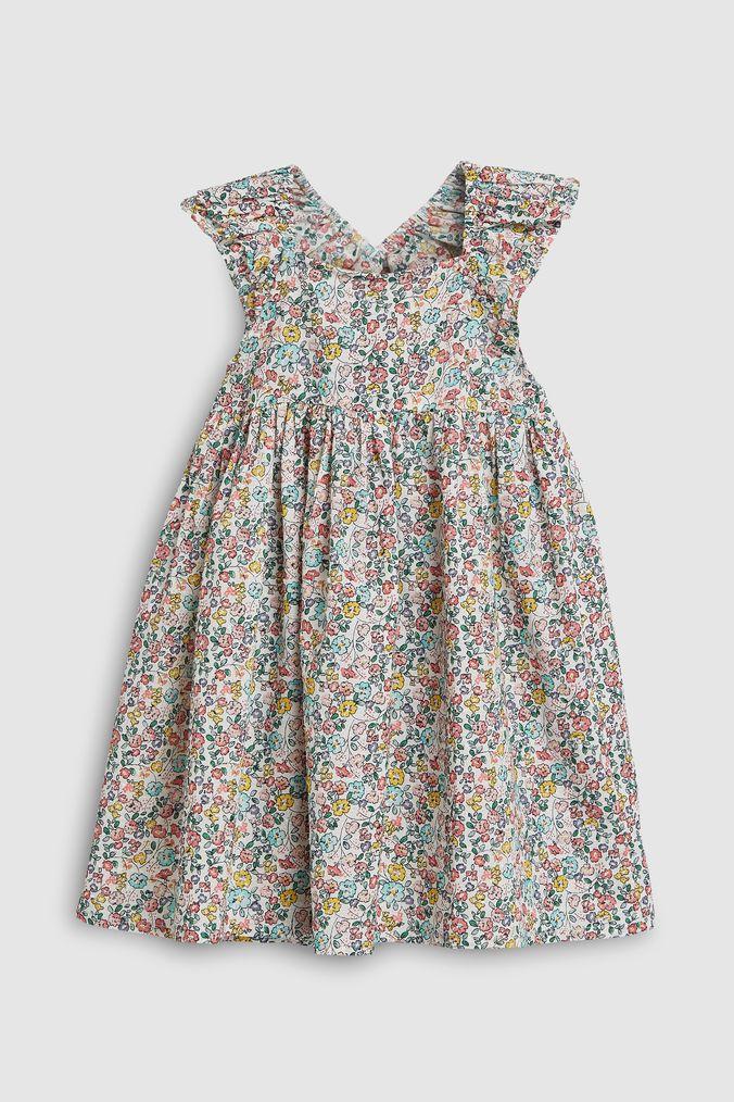 Girls Next Ditsy Print Dress (3mths-7yrs) -  Pink