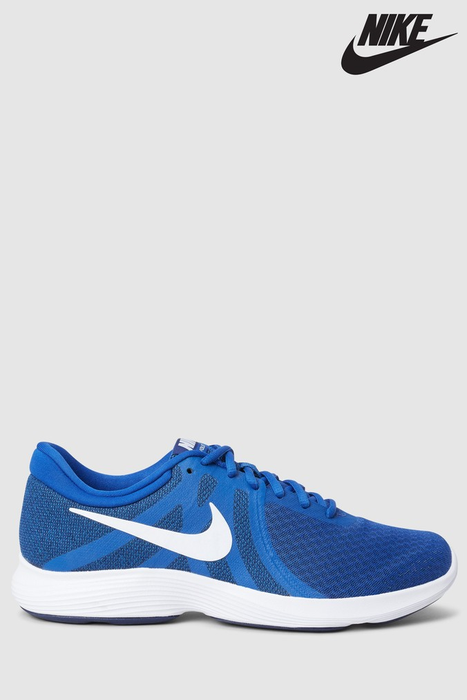 68776af8dcb5b5 Mens Nike Run Revolution 4 - Blue