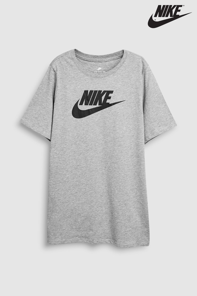 73cce1667dda Boys Nike Futura Icon Tee - Grey - £15.00 - Bullring   Grand Central