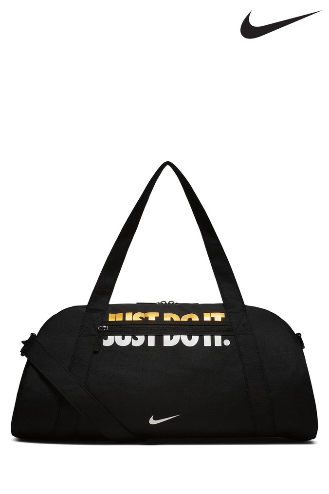 Mens Nike Black Club Duffle Bag - Black  27deff2ddc