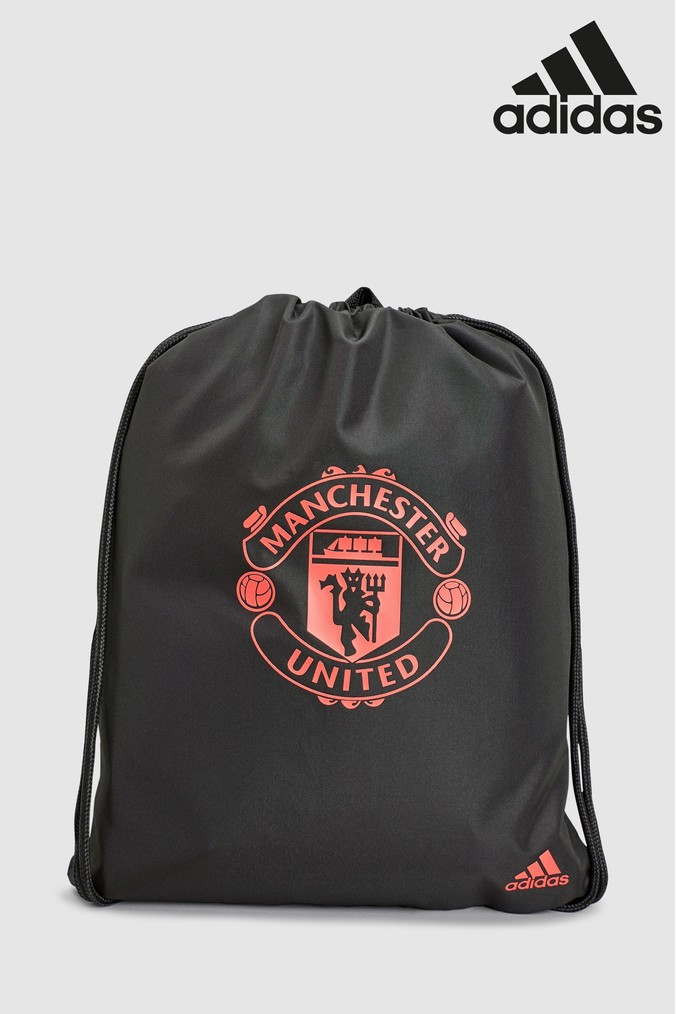 Compare prices for Boys adidas Manchester United FC Gymsack - Black