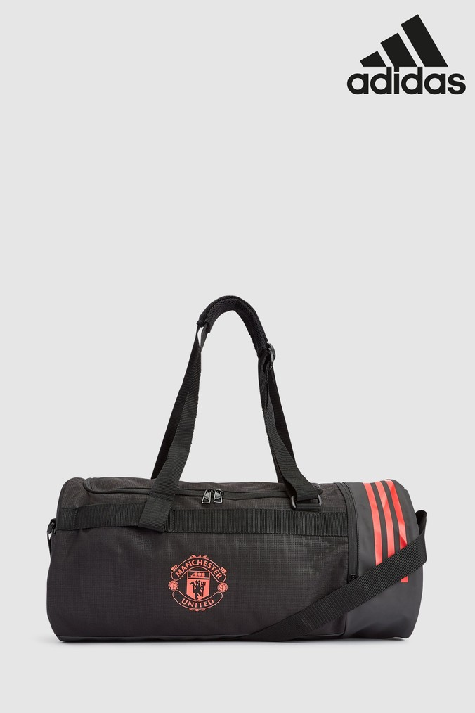 Compare prices for Boys adidas Manchester United FC Duffle Bag - Black