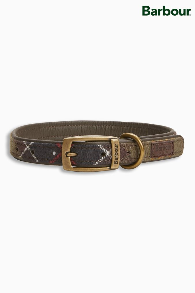 Compare retail prices of Barbour Green Tartan Dog Collar - Green to get the best deal online