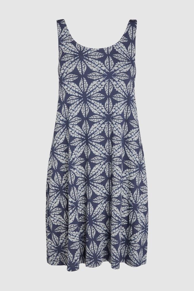 Womens Next Blue Swing Pocket Dress -  Blue