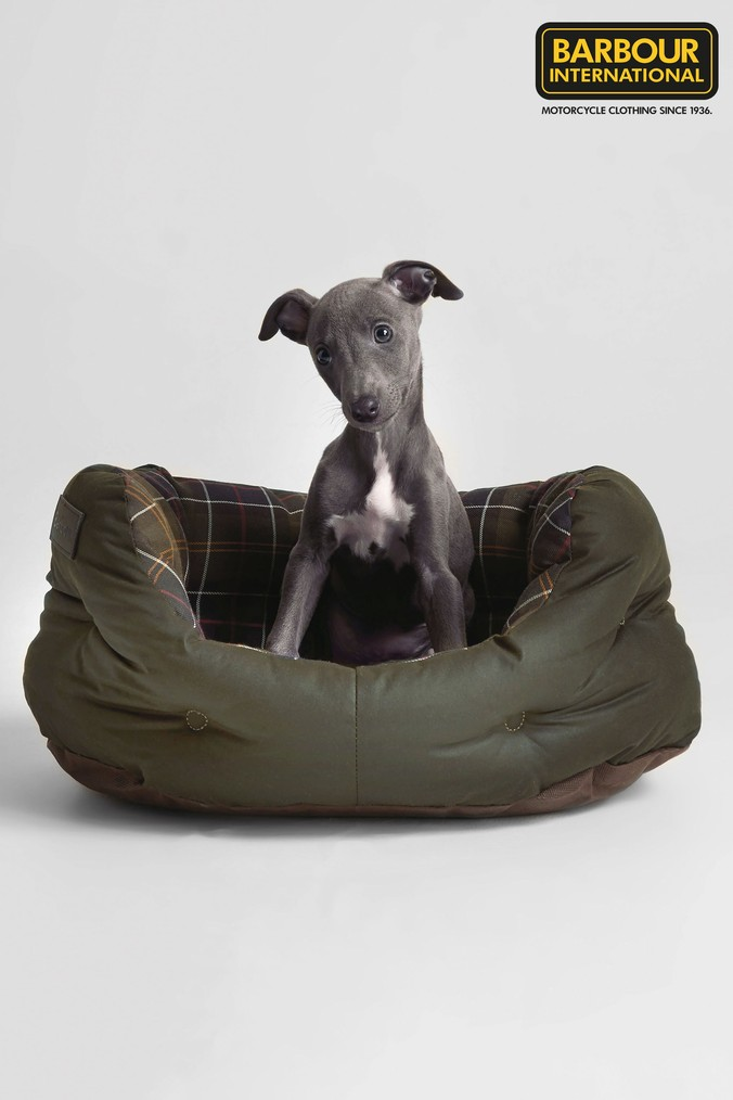 Compare retail prices of Barbour Green Tartan Dog Bed - Green to get the best deal online