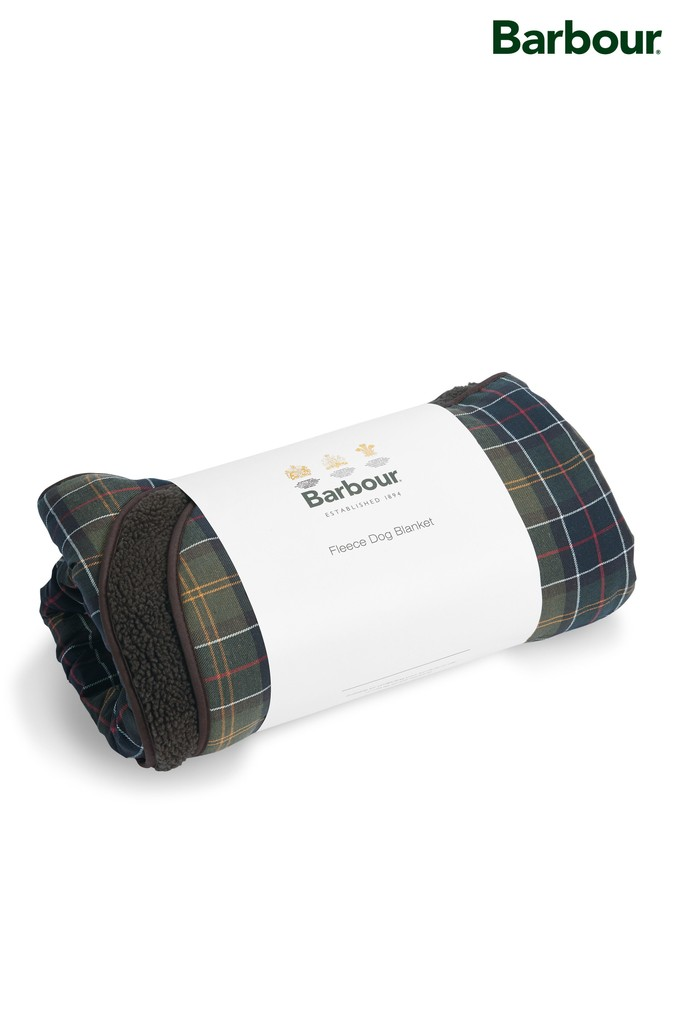 Compare retail prices of Barbour Green Tartan Dog Blanket - Green to get the best deal online