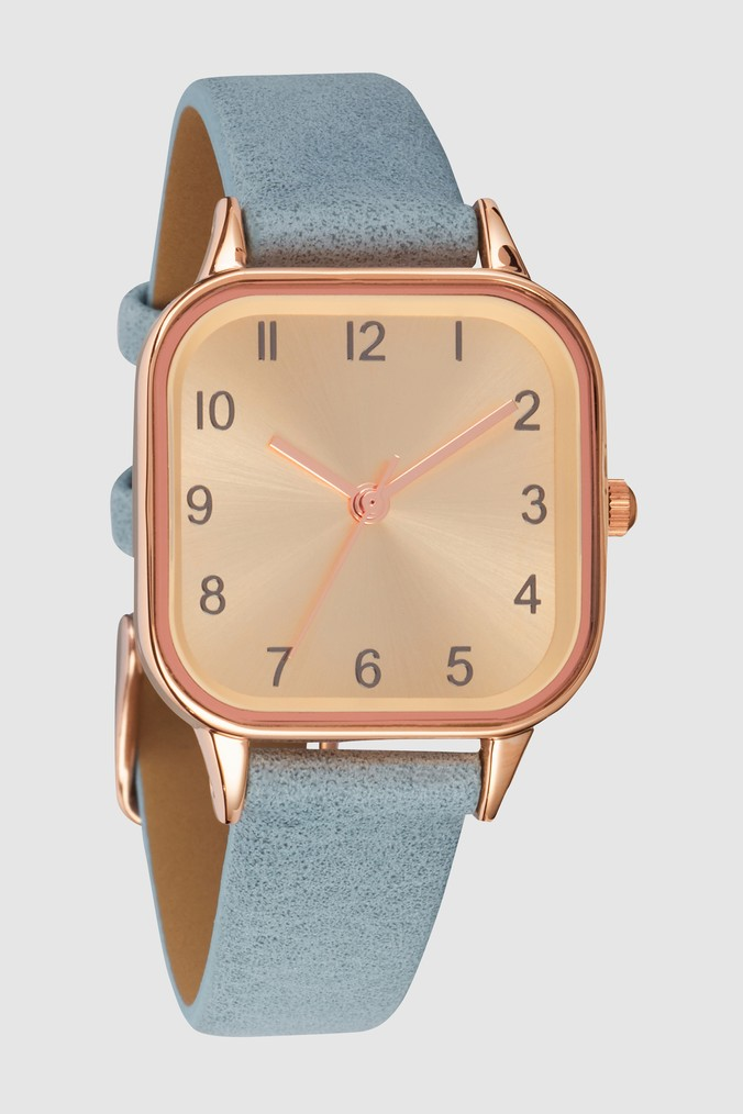 Womens Next Blue Square Case Watch -  Blue