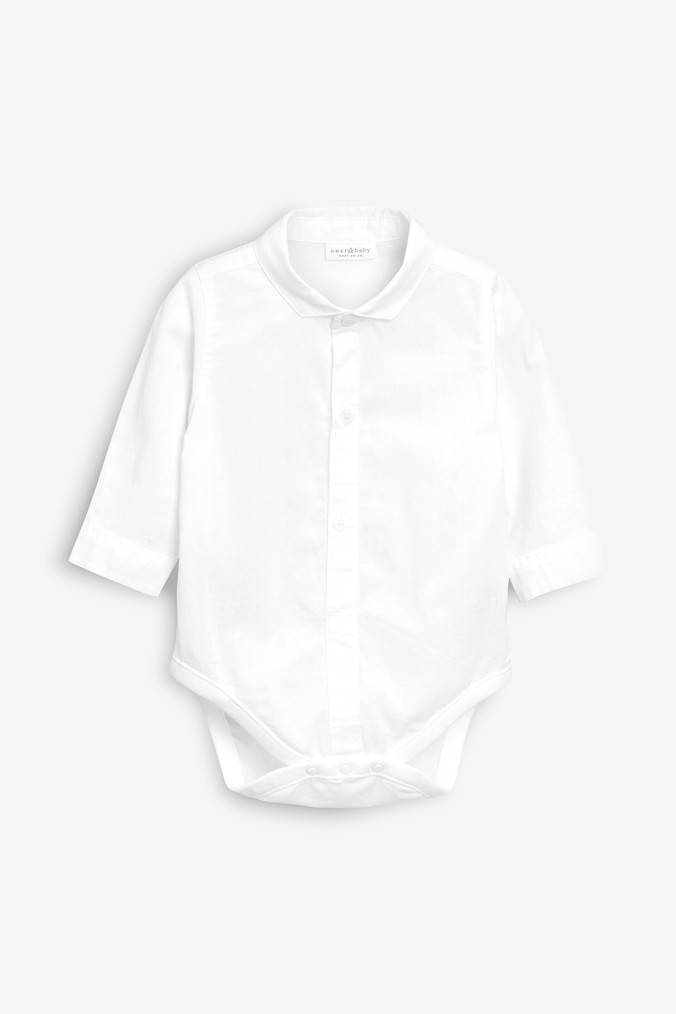 93a68968c Boys Next White Shirtbody (0mths-2yrs) - White
