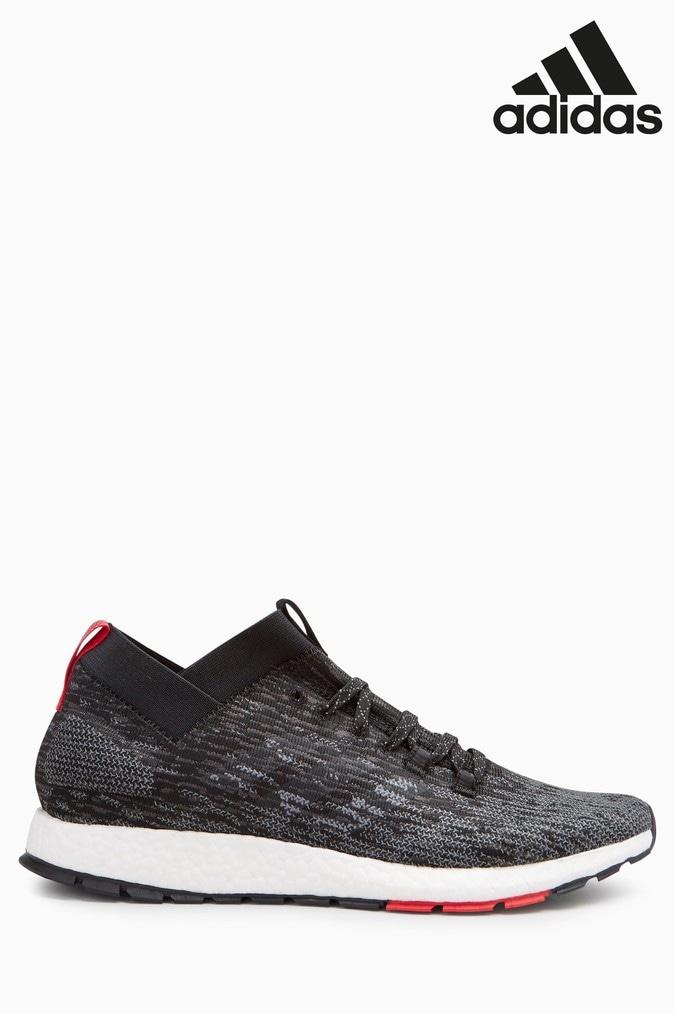 new product 68276 76e8b Mens adidas Run Pureboost Rebel - Black - Next at Westquay -