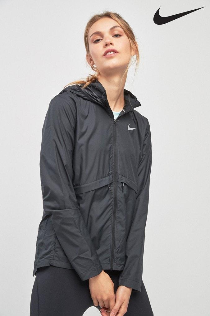 a8f4c95dc913 Womens Nike Essential Jacket - Black