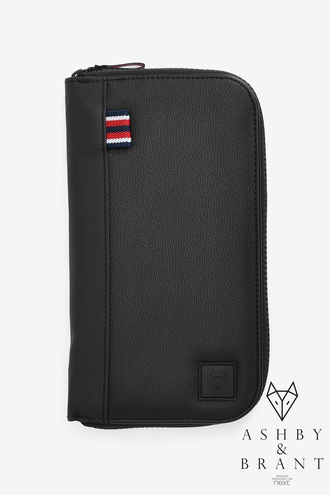 20ac4089bf Mens Next Black Ashby   Brant Sport Travel Wallet - Black - £20.00 -  Bullring   Grand Central