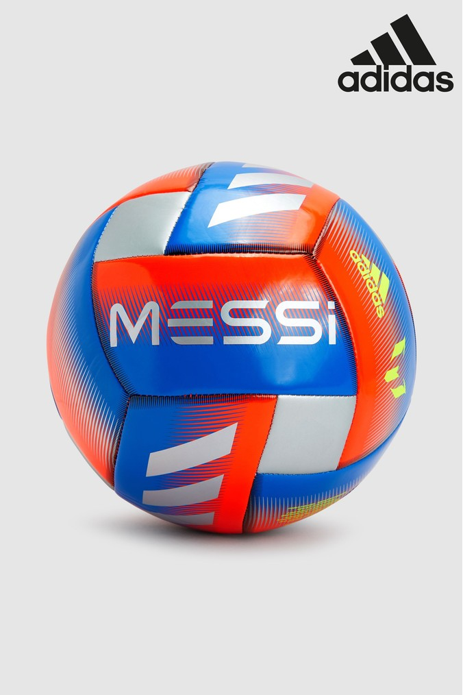 Compare prices for Boys adidas Messi Football - Blue