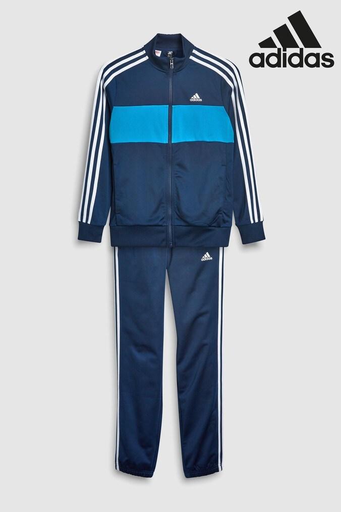 51e6a459064 Boys adidas Tiberio Tracksuit - Blue