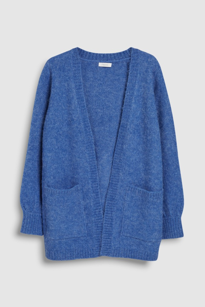 99f7a2baf Girls Next Blue Longline Cardigan (3-16yrs) - Blue