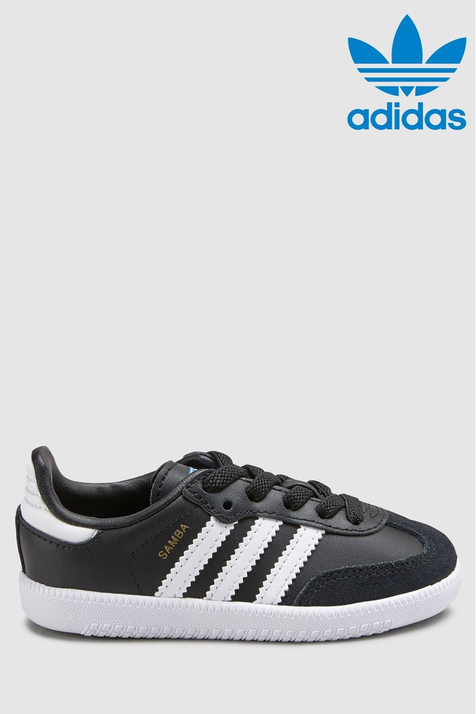 777c4b30481 Boys adidas Originals Samba Infant - Black - Next at Westquay - Shop Online