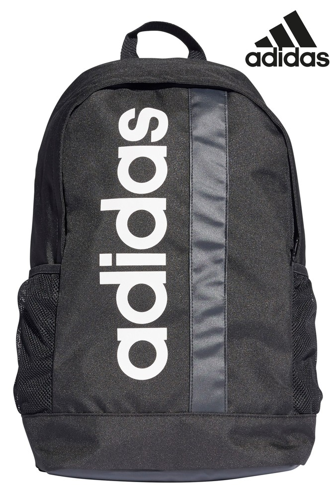 Compare prices for Boys adidas Black Backpack - Black