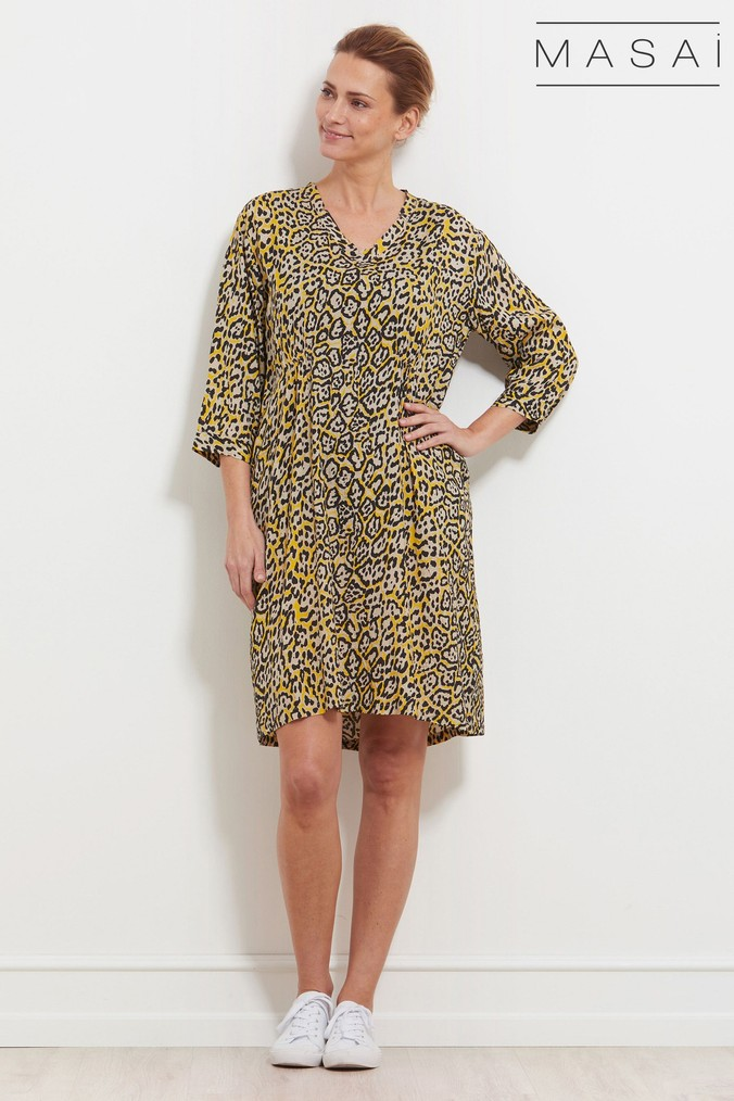 Womens Masai Yellow Nancy Dress -  Yellow
