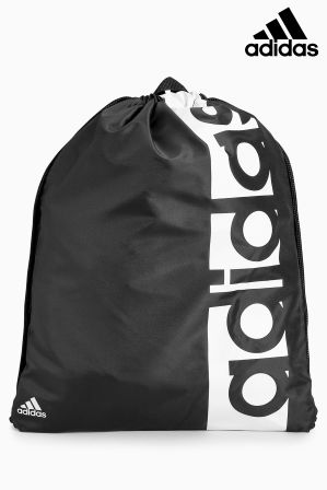Compare prices for Boys adidas Black Gymsack - Black