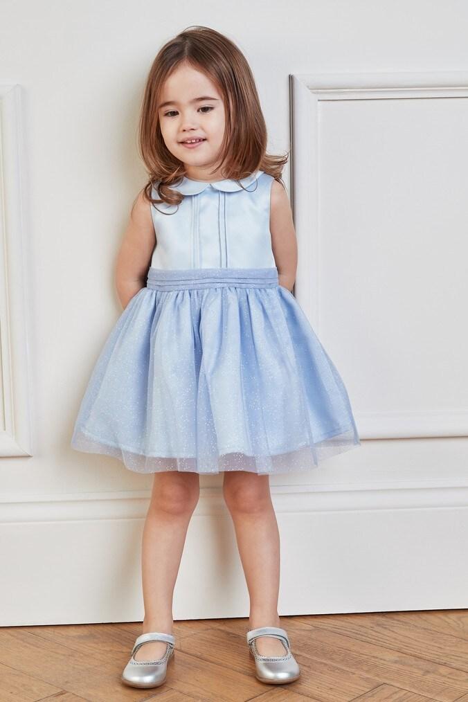 Girls Next Blue Prom Dress (3mths-7yrs) -  Blue