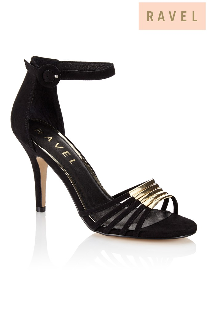 3787a216382 Womens Ravel Ankle Strap Sandals - Black
